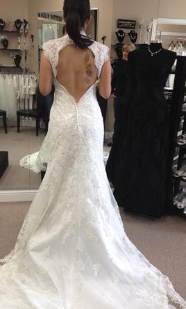 maggie sottero bernadette wedding dress currently for sale at 25 off